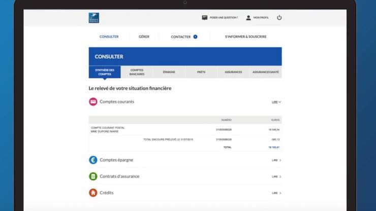 Consulter Ses Comptes A La Banque Postale Se Connecter Banque Postale